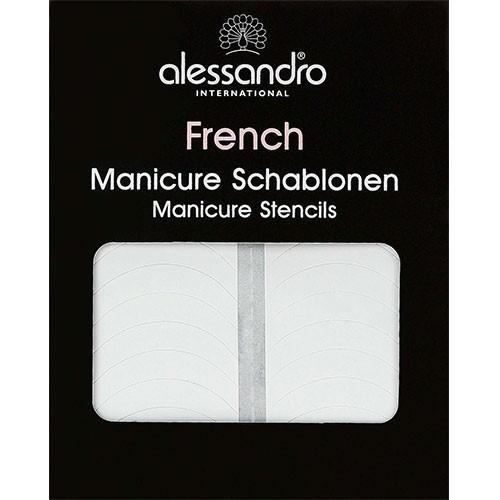 Alessandro French Manicure Schablonen 1Stk