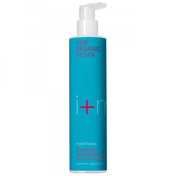 i+m Freistil Sensitiv Duschgel und Shampoo