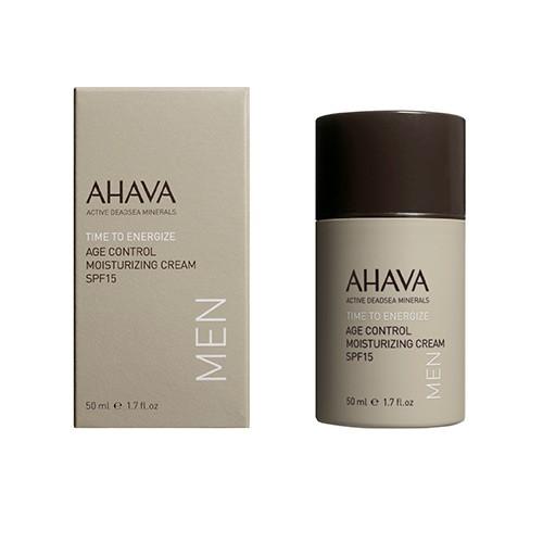 Ahava Time to Energize Men Age Control Moisturizing Cream SPF15 50ml