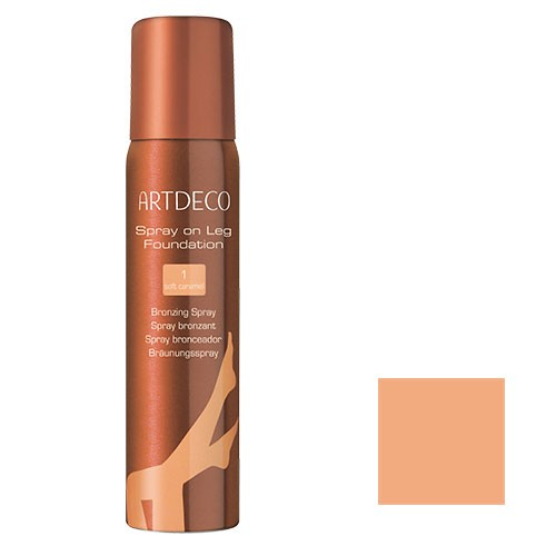 Artdeco Spray on Leg Foundation Nr.1 soft caramel 100ml
