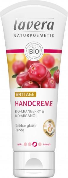 Lavera ANTI AGE HANDCREME Bio-Cranberry & Bio-Arganöl