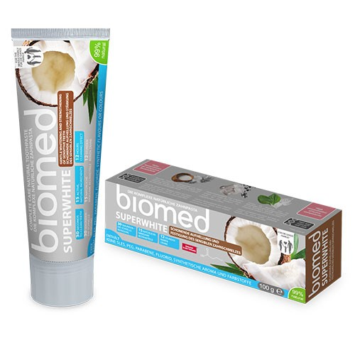 Biomed Superwhite Zahnpasta Cocos 75ml