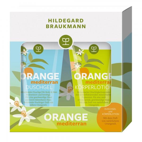 Hildegard Braukmann Orange Mediterran Set