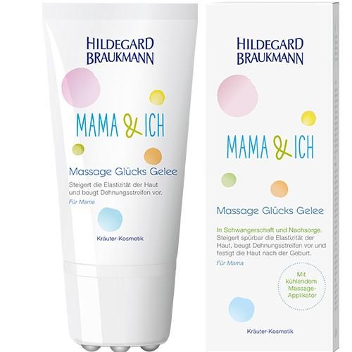 Hildegard Braukmann Mama & Ich Massage Glücks Gelee 150ml