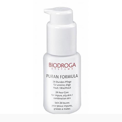 Biodroga Puran Formula 24 h Pflege für ölige Haut/Mischhaut 40ml