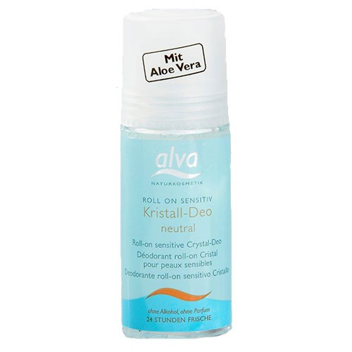 Alva Kristall Deo Roll On Sensitiv 50ml