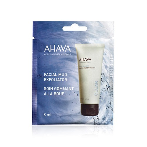 Ahava Time to Clear Facial Mud Exfoliator 8ml