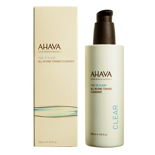 Ahava Time to Clear All in 1 Toning Cleanser 250ml