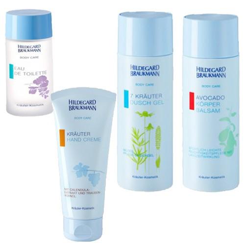 Hildegard Braukmann Set Body Care mit 4 Produkten 550ml