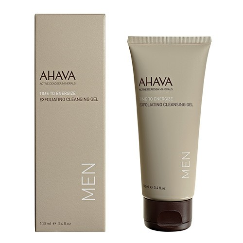 Ahava Time to Energize Men Exfoliating Cleansing Gel 100ml