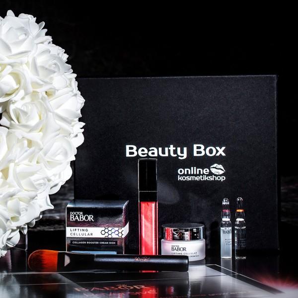 Beauty Box mit Pflege & Make up Produkten