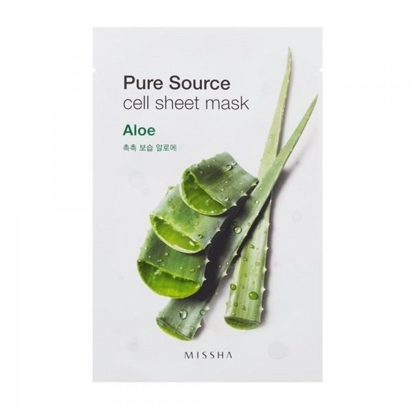 Missha Pure Source Cell Sheet Mask Aloe
