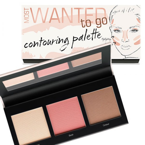 artdeco most wanted contouring palette to go nr 4 5 20g lidschatten augen make up online. Black Bedroom Furniture Sets. Home Design Ideas